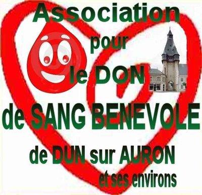 logo Association pour le Don de Sang Bénévole de Dun-Sur-Auron et ses environs