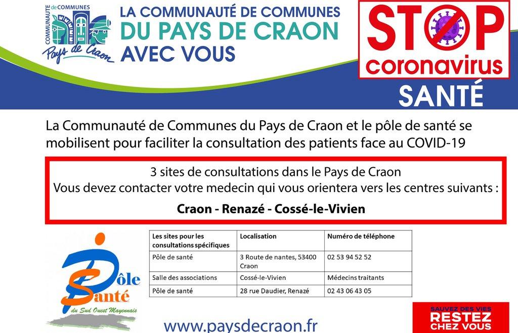 Covid-19 : information santé