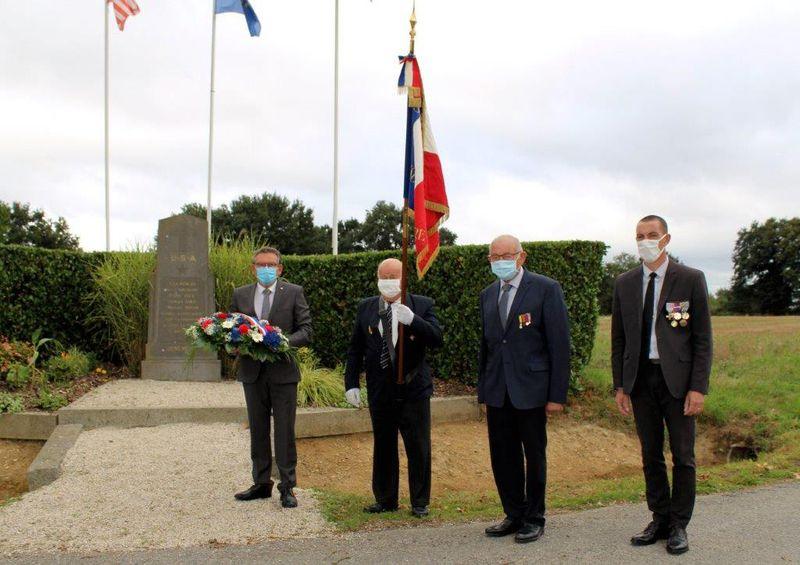 Commémoration de la Libération de Cossé-le-Vivien